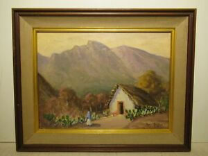12x16 org. 1935 oil painting by Rolla Taylor of