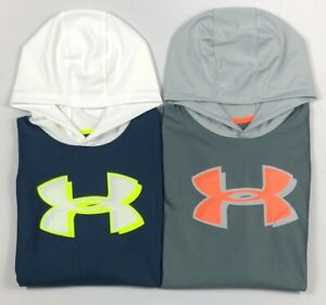 Boys Youth Under Armour Loose Hooded Long Sleeve Shirt $22.99