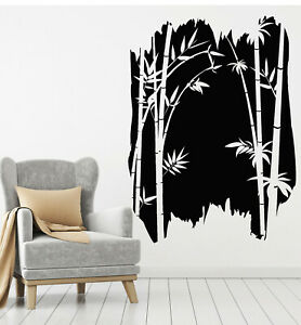 Vinyl Wall Decal Bamboo Cane Tree Branch Asian Chinese Style Stickers (g2344)