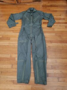 Vintage Vietnam War 1963 K-2B COVERALL FLYING MAN'S MIL-S-6265D 24 JULY