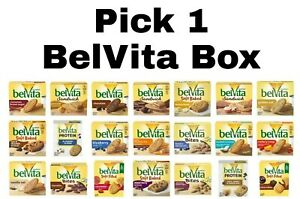 Nabisco BelVita Breakfast Biscuits Pick 1 Box Choose any Flavor