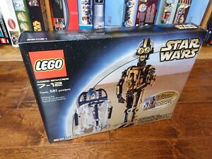 Lego Star Wars Set 65081 Droid Collectors Set R2-D2 C-3PO New Complete Sealed!