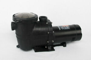 In-ground swimming pool pump 1 hp 115 v / 230 v  intake & discharge 1.5