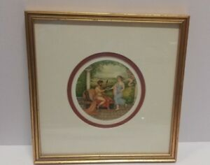 Vintage Roman Dorothy Turton RMS Framed Art Print 10.5 InchesX10.5 Inches Decor