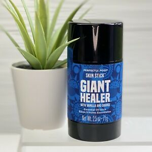 Perfectly Posh GIANT HEALER Skin Stick Orange Vanilla Essential Oils NEW