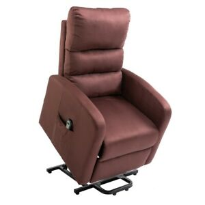 Homegear Microfiber Power Lift Recliner Chair with Electric Recline and Remote