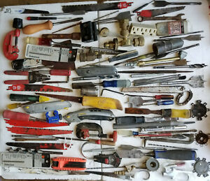 Huge Lot of Mixed Hand Tools Miscellaneous Tools
