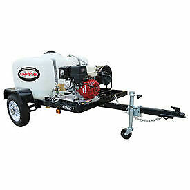 SIMPSON® Stage 1 Pressure Washer Trailer System - 3800 PSI  3.5 GPM 95001