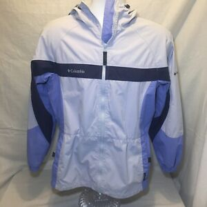 Women's Columbia Packable Lightweight Jacket Size Small Camping Raincoat Hiking