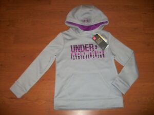NWT girls youth Under Armour hoodie size YSM $44.99 $21.70