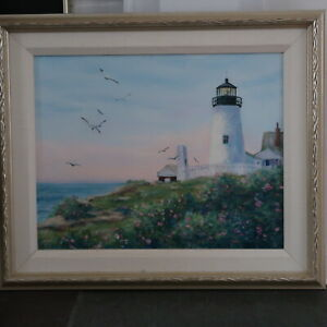 Lighthouse Oil Painting $1095.00