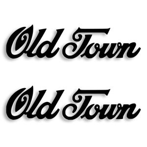 Old Town Canoe Vinyl Decal Sticker Set of 2 Free Shipping 4 Sizes