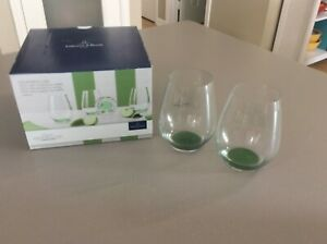 What a Colourful Life GREEN APPLE 4 pc Crystal Tumbler Set NEW by Villeroy  Boch