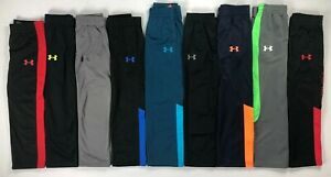 Boys Little Youth Under Armour Polyester Pants $21.99