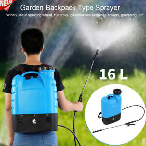 16L Backpack Agricultural Water Sprayer Pump Bottle Garden Lawn Tool Weed Killer