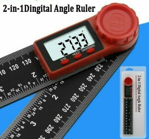 Electronic Goniometer Detector 200mm Digital Instrument Angle Inclinometer Scale $31.20
