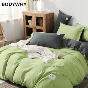 Classic double-sided bed linen bedding cover quilt cover pillowcase 4 piece set