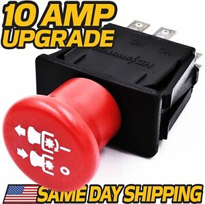 Clutch PTO Switch Replaces Wright Stander 52420003 Free 10 Amp Upgrade $16.79