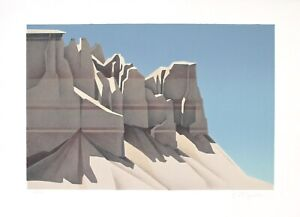 Ed Mell quot;Coalmine Canyonquot; Original Stone Limited Edition Lithograph Signed $750.00
