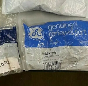 BOX OF MISC REFRIGERATOR PARTS WHIRLPOOL, GE & ELECTROLUX