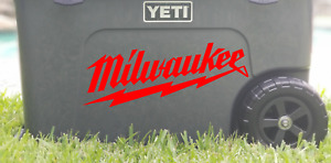 Milwaukee Tools Die-Cut Vinyl Decal Sticker      19 Colors Available