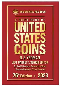 New 2022 Official Red Book Guide For US Coins Price List Hardcover Catalog 75th $13.62