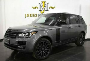 2017 Land Rover Range Rover HSE ($106140 MSRP) **BLACK DESIGN PACKAGE** 2017 Range Rover HSE~ $106140 MSRP~ BLACK DESIGN PACKAGE~ CORRIS GREY ON BLACK