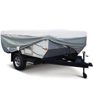 Classic Accessories PolyPro 3 Folding Camping Trailer Cover 16' to 18'L MDL5