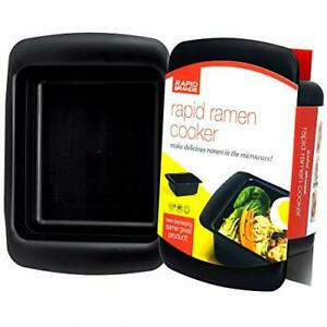 Rapid Microwave Ramen Cooker Quickly Noodles in 3 Min BPA Free / Dishwasher Safe