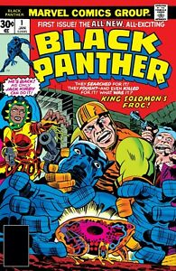 BLACK PANTHER #1 COMIC BOOK COVER 11quot;x17quot; POSTER PRINT