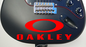 Oakley Die-Cut Vinyl Decal Sticker      20 Colors Available
