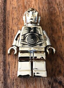 2007 Lego Star Wars Chrome C-3P0 30th Anniversary 2007 (1-10000)