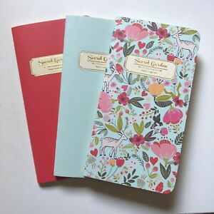 3pcs Notebook Set 30 Pages Each Notebook- Dotted Grid, Dotted Line, Blank Pages