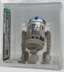 Kenner Star Wars R2-D2 No COO Droid Factory AFA 80 loose vintage NEW CASE STYLE