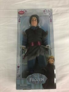"""1st EDITION RETIRED 12"""" KRISTOFF DOLL –NEW Disney Store Exclusive –Frozen $28.88"""