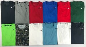 Men's Nike Pro Dri Fit FITTED Stay Cool Athletic Shirt $22.99