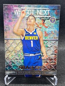 2018 Michael Porter JR Panini NBA Hoops We Got Next #WGN 14 Denver Nuggets Card