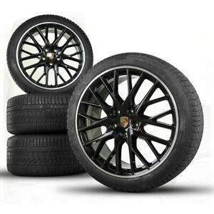 Original Porsche 21 inch 971 Panamera Sport Design winter wheels winter tires