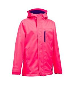 UNDER ARMOUR Girls' ColdGear® Infrared Gemma 3 in 1 Jacket Youth sz X Large $74.99