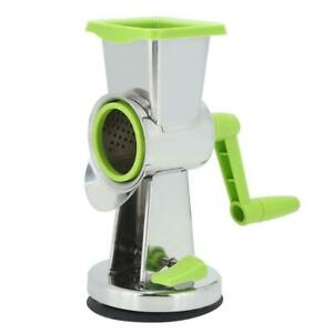 Multifunctional Manual Vegetable Cutter Slicer Grater Kitchen Tool Aid +3 Blades