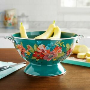 The Pioneer Woman Wildflower Whimsy 5-Quart Colander
