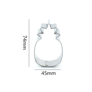 pineapple shaped stainless steel cookie cutter fondant pastry biscuit mold di RS