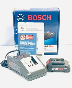 Bosch GXS18V-15N15 CORE 18V Starter Kit w/ (1) CORE18V 4.0Ah Battery New