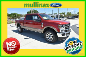 2020 Ford F-250 King Ranch 2020 King Ranch New Turbo 6.7L V8 32V Automatic 4WD Pickup Truck Moonroof