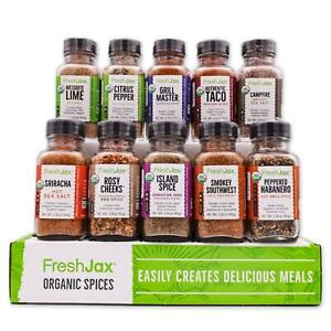 Organic 10 Spice Gift Set: Meat Lovers $49.99