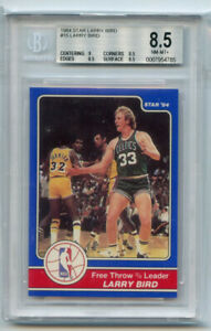 Larry Bird 1984 Star #15 Larry Bird BGS 8.5 ABC1638