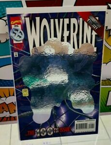 Wolverine Anniversary 100th Issue X Men Deluxe April Hologram Comic $10.00