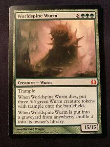 MTG Magic 1x x1 Worldspine Wurm Return to Ravnica Ed NM Mint Qty 2