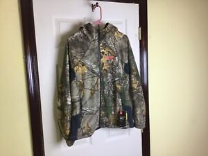 Under Armour Storm 1 cold gear women's camouflage full zip hooded jacket Large $79.99