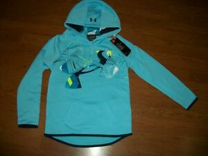 NWT girls youth Under Armour hoodie size YXS $21.24